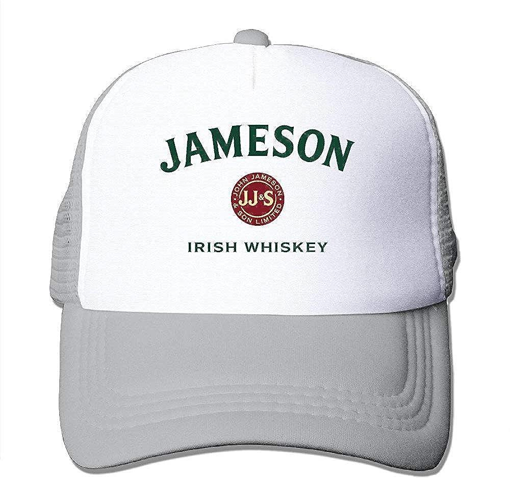 Hittings Jameson Beer Irish Whiskey Snapback Mesh Hat Ash