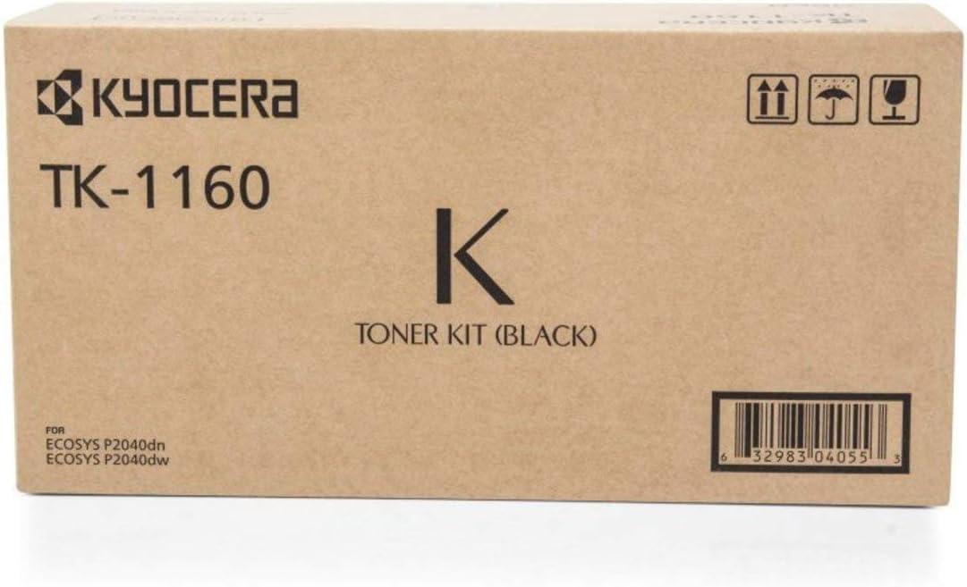 Kyocera Original Kyocera Ecosys P 2040 Dw Tk1160 1t02ry0nl0 Toner Schwarz 7 200 Seiten Bürobedarf Schreibwaren