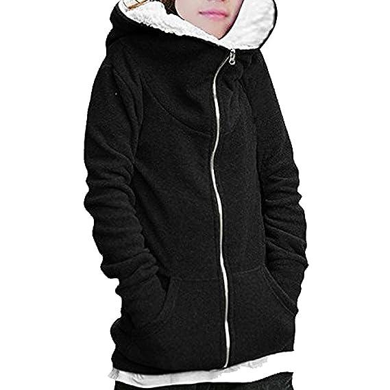 Minetom Mujer Otoño Invierno Sudaderas Con Capucha Moda Casual Abrigos Al Aire Libre Ropa: Amazon.es: Ropa y accesorios