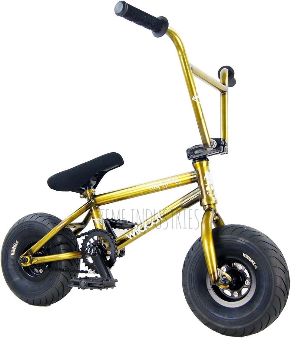 Wildcat Original Mini bicicleta BMX Raw oro nueva edición limitada ...