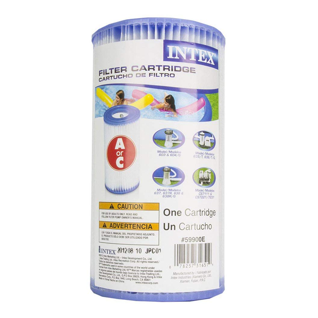 Filter Cartridge 6 Intex 18 x 48 Inflatable Easy Set Above Ground Pool Set