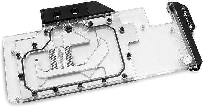 Digital RGB Nickel//Plexi EKWB EK-Quantum Vector Aorus RTX 2080 GPU Waterblock