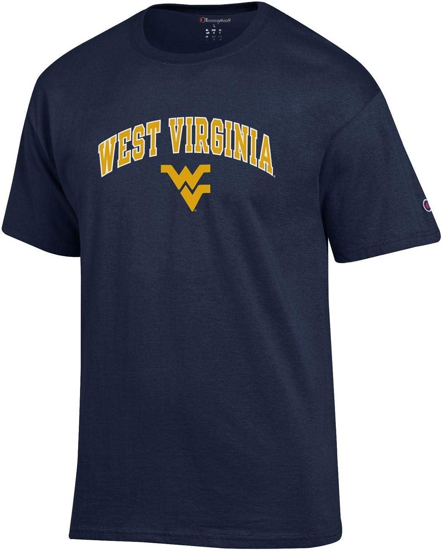 Navy Champion West Virginia University Mountaineers NCAA T Shirt