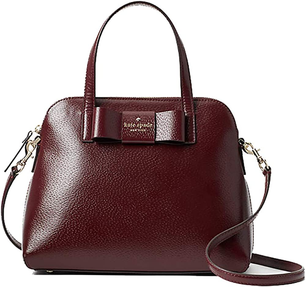 Kate Spade New York Maise Matthews Street Leather Satchel Handbag - New