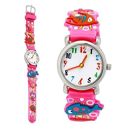 TOPCHANCES Kids Watch,Waterproof Children's 3D Cute Cartoon Wristwatch  Digital Timer Teacher Quartz Watch - Best Gift Ideal Boy Girls
