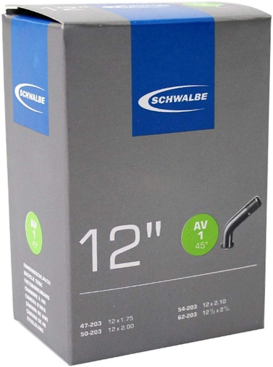 Schwalbe - Cámara de Aire para Bicicletas (12 Pulgadas): Amazon.es ...
