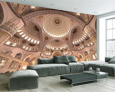ShAH Custom 3D Wallpaper Mural Floor Sticker Stereo Building Murals Living Room Bedroom Tv Background Wall Custom 3D Wallpaper Mural Floor Sticker 3D