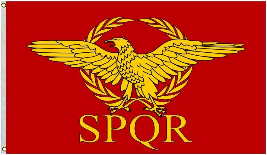 Roman Empire Senate and People of Rome Flag Size 3x5 Feet