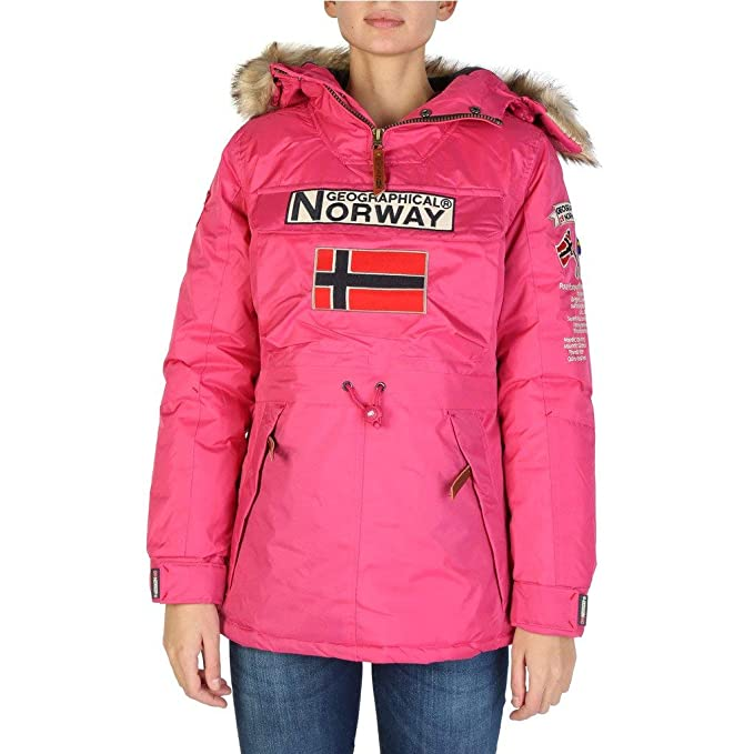 Geographical Norway Chaqueta Boomera_Woman_New Mujer Color: Rosa Talla: 4: Amazon.es: Ropa y accesorios