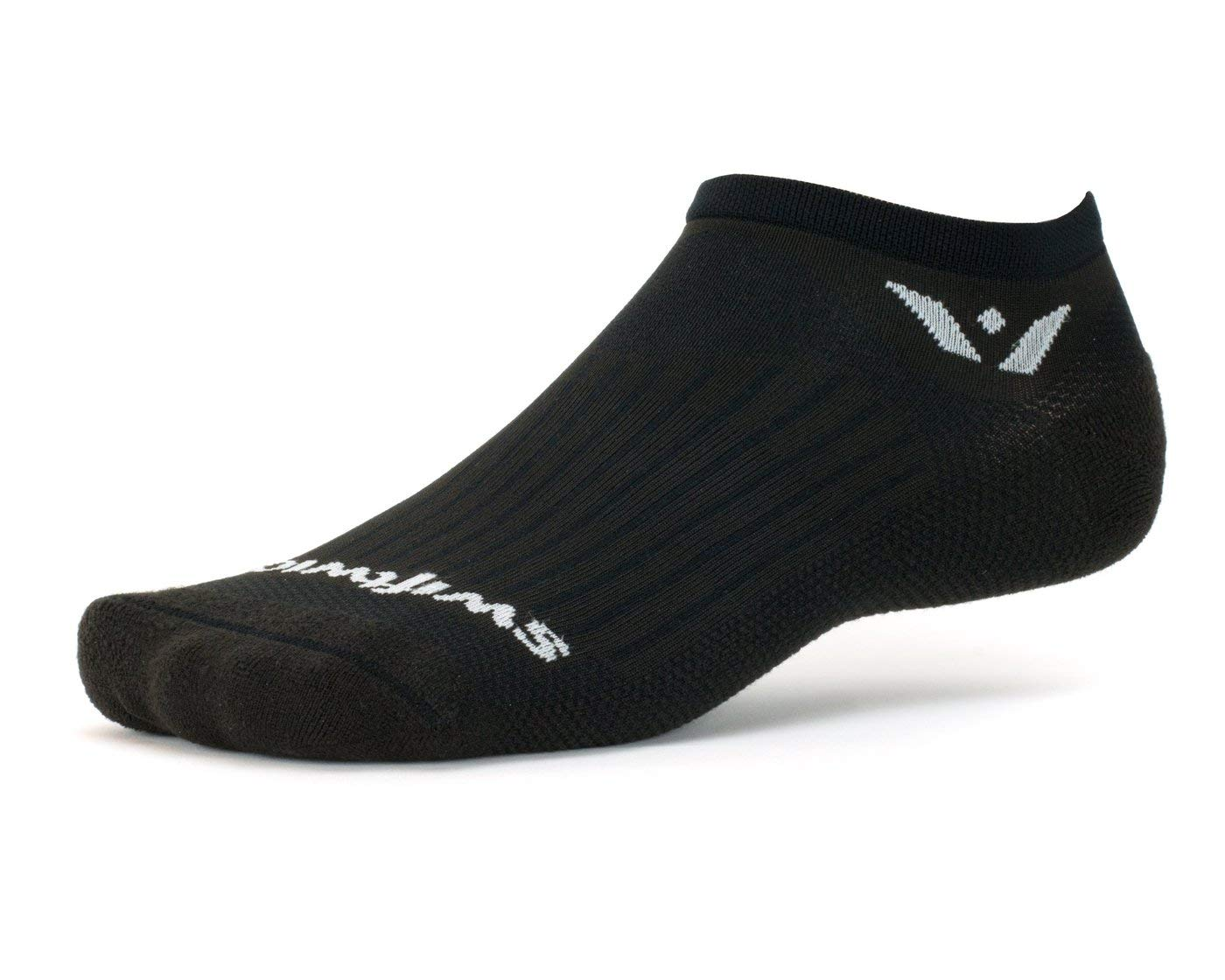 Fast Drying Firm Compression No Show Socks Socks Built for Running /& Cycling Swiftwick- Aspire Zero