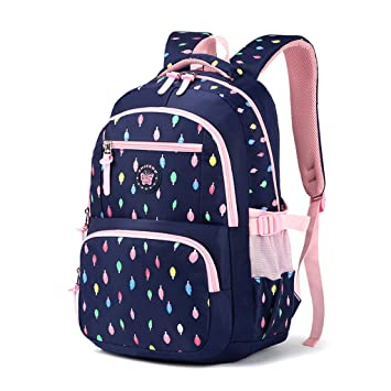 Mochila escolar para niños,Bolsa de escuela para niños Mochila chica mochila Bolsas de hombro livianas Bolsa de escuela de Nylon chico Mochila adolescente ...