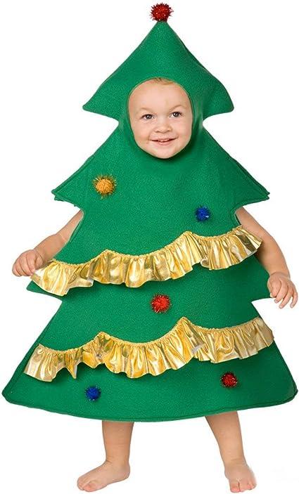 Weihnachtsbaumkostüm Kinder Tannenbaumkostüm Kinderkostüm M 7-9 Jahre 130-143cm