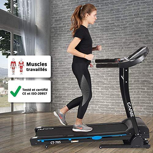 Cuidado - CT-705 Cinta de correr motorizada - Caminar, trotar y ...