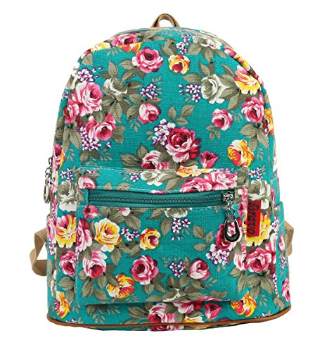 Canvas Medium Shoulder Backpack Rucksack