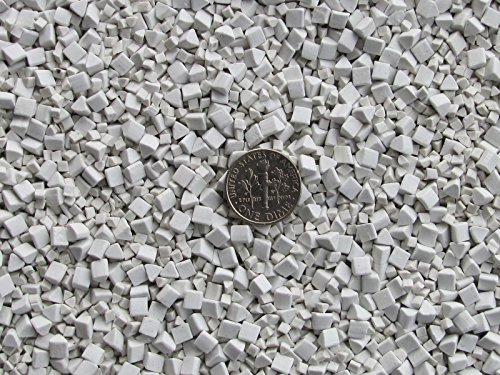 3 Lb. 2 & 4 mm Polishing Triangles Non-Abrasive Ceramic Tumbling Tumbler Tumble Media by Algrium Glassworks