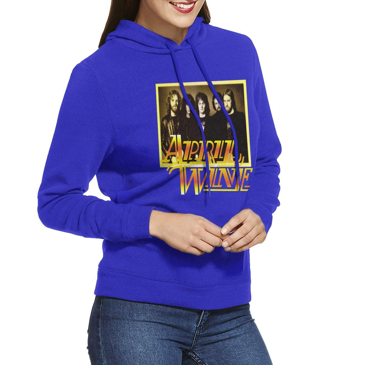 Erman S Shirts Athletic April Wine 1 Black Hooded Pullover
