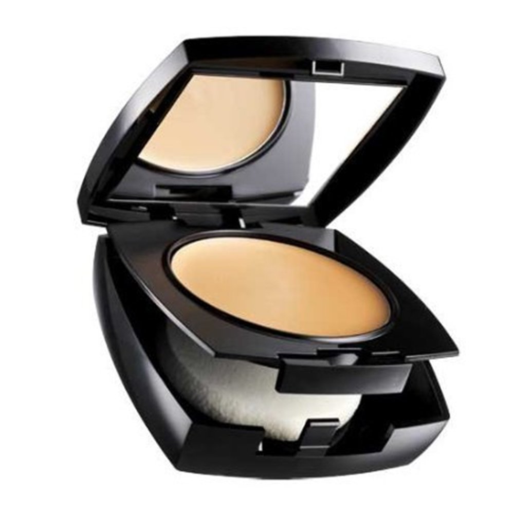 Avon ideal, flawless cream foundation with powdery finish colour, natural beige