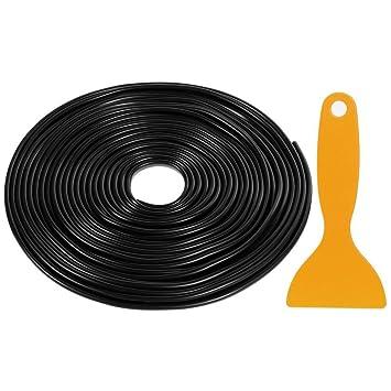rovtop 10 m cinta de goma para protección de puerta cinta de protección de bordes empêchant