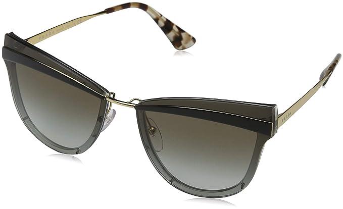 7875a76e2a32 Ray-Ban Women's 0pr 12us Sunglasses, Sand Gold/Grey/Gradient, 65 ...