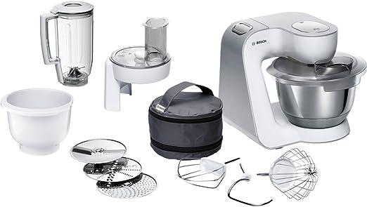 Bosch MUM58234 - Robot de cocina (3,9 L, Blanco, 1,1 m, 3 discos, 220-240 V, 50-60 Hz): Amazon.es: Hogar