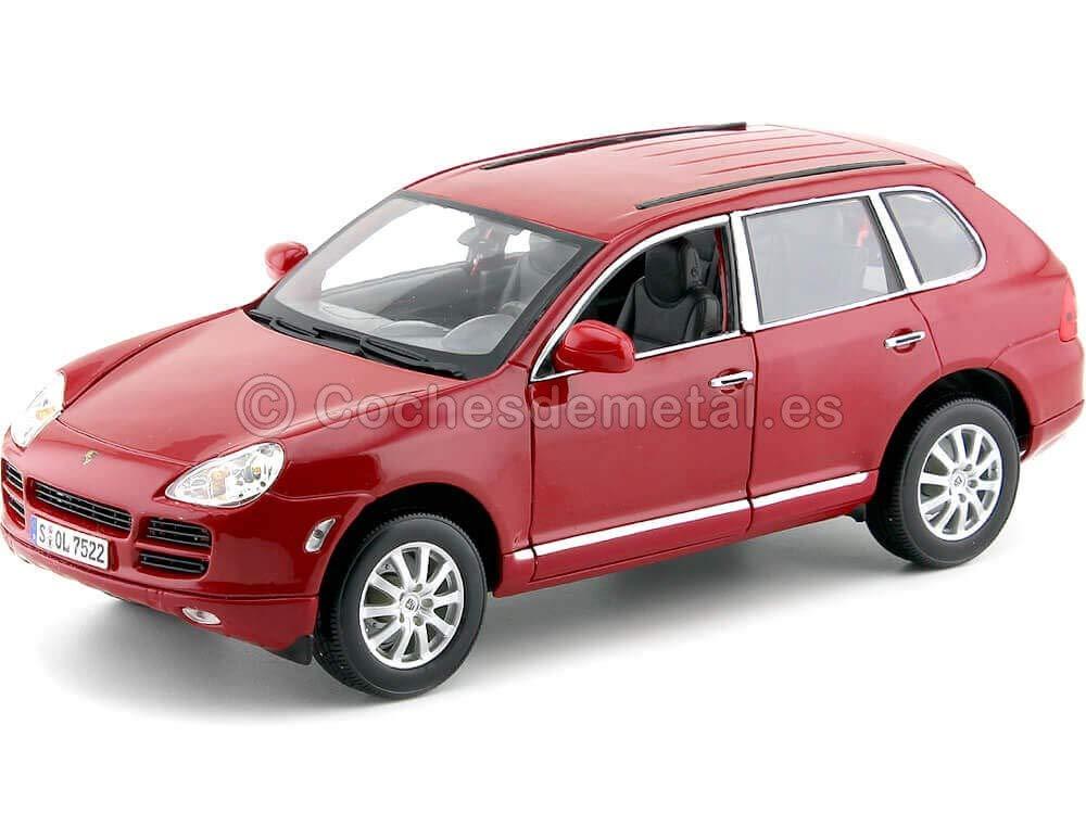 2008 Porsche Cayenne 3.2 V6 Turbo Rojo Metalizado 1:18 Maisto 31113 Cochesdemetal.es: Amazon.es: Juguetes y juegos