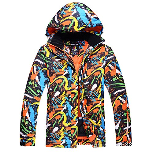 DYF Los Hombres/Mujeres Coat Ski Chaqueta Impermeable a ...