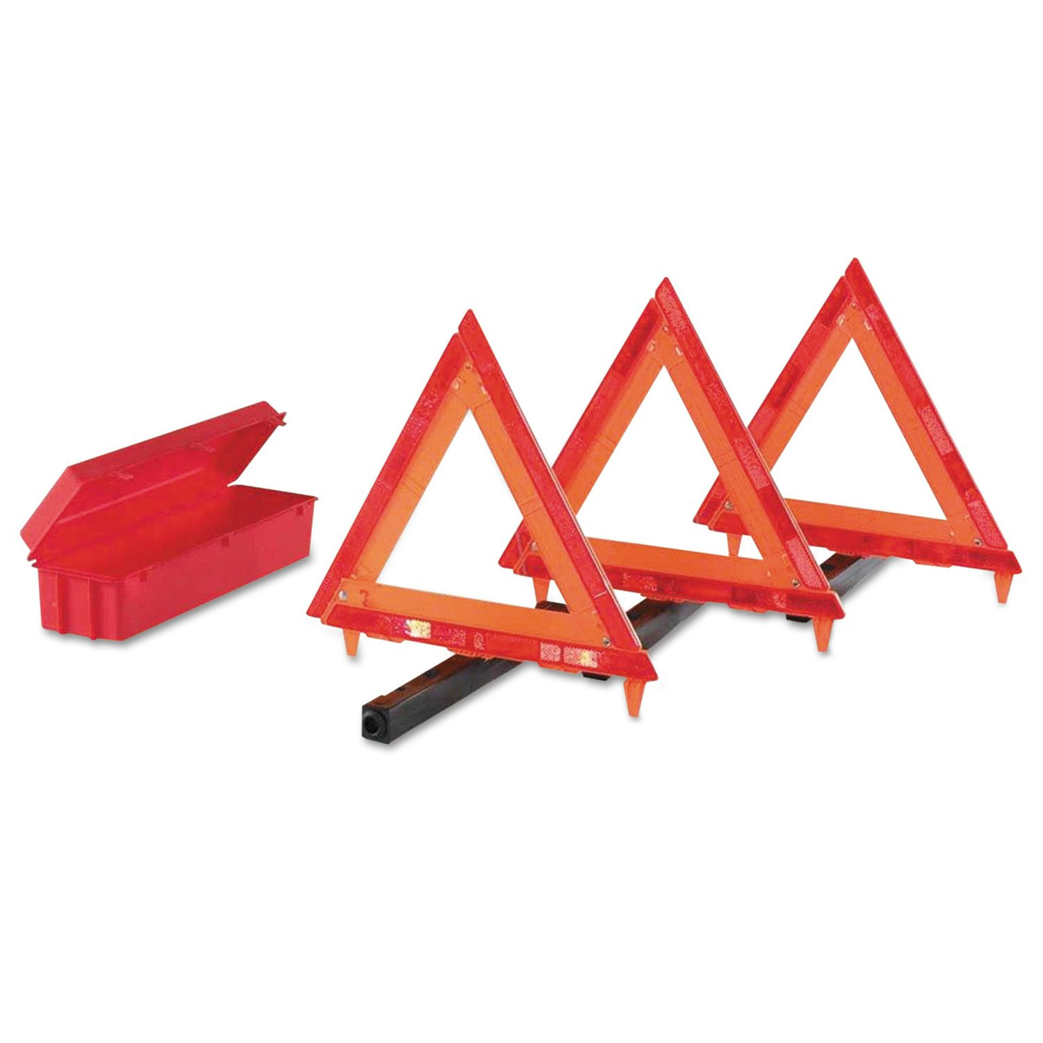 Cortina Safety Products 95-03-009 Three Triangles in Living Hinge Box with 1 Pack by Cortina Safety
