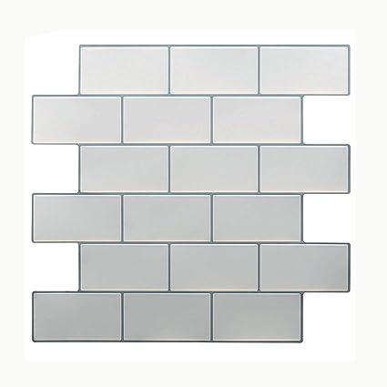 Amazon Vamos Tile White Subway Removable Peel And Stick Tile