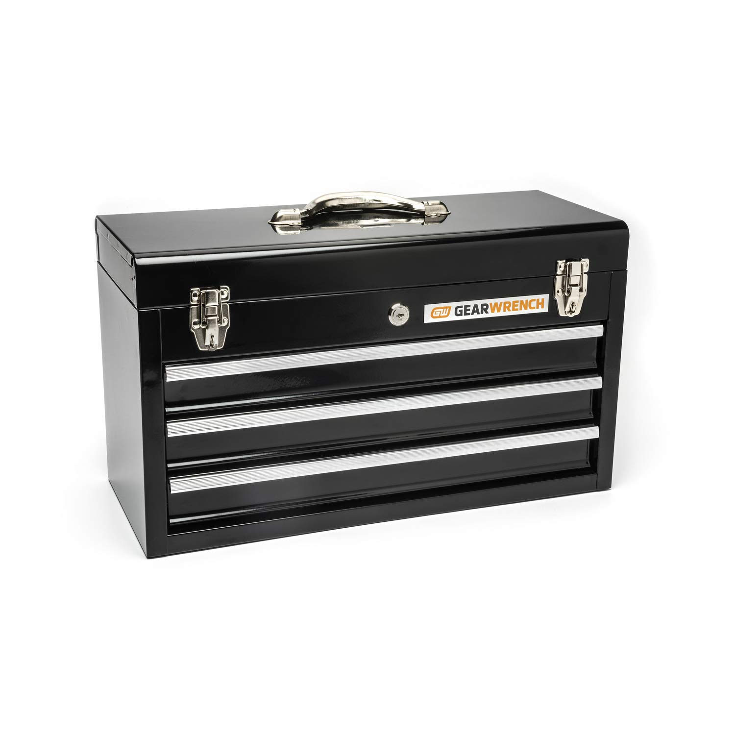 GEARWRENCH 20'' 3 Drawer Black Steel Tool Box - 83151 by GearWrench