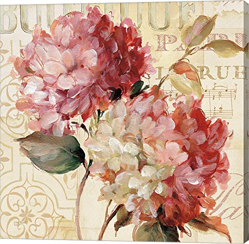 Pretty Harmonious by Lisa Audit Canvas Art Wall Picture, Floral wall decor
