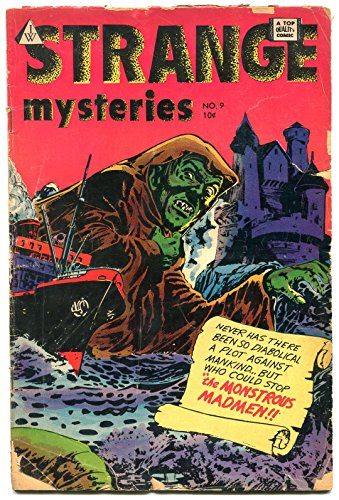 Strange Mysteries #9 1963- Golden Age horror pre-code reprints- Jay Disbrow G