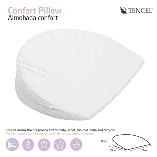 Cambrass 34523 Comfort Pillow Mini Liso E White 37X29 Cm