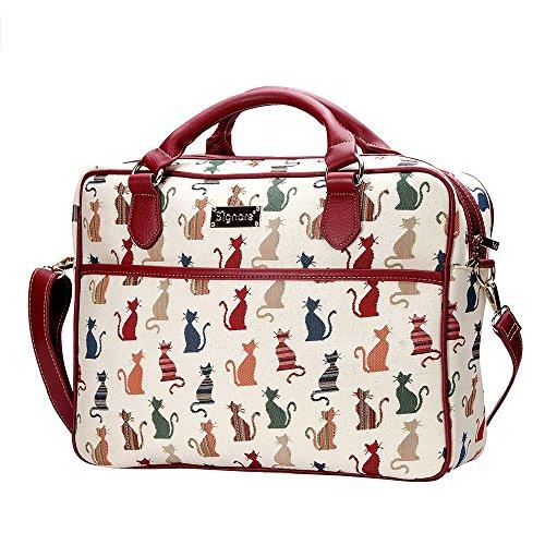 15 Signare Bag Laptop 6 Descrado Arazzo Femminile Gatto Borsa Moda xwq0FC5nt