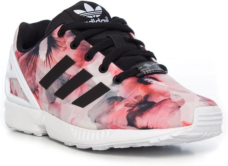 adidas Zx Flux Enfant noire et rose Chaussures adidas