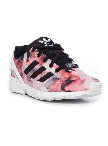 chaussure adidas zx flux fleur