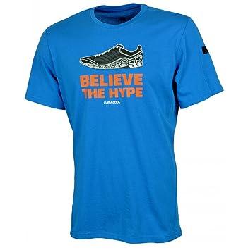 Adidas GT Believe Revo Camiseta de Baloncesto de la NBA Believe The Hype Climacool Función Camiseta