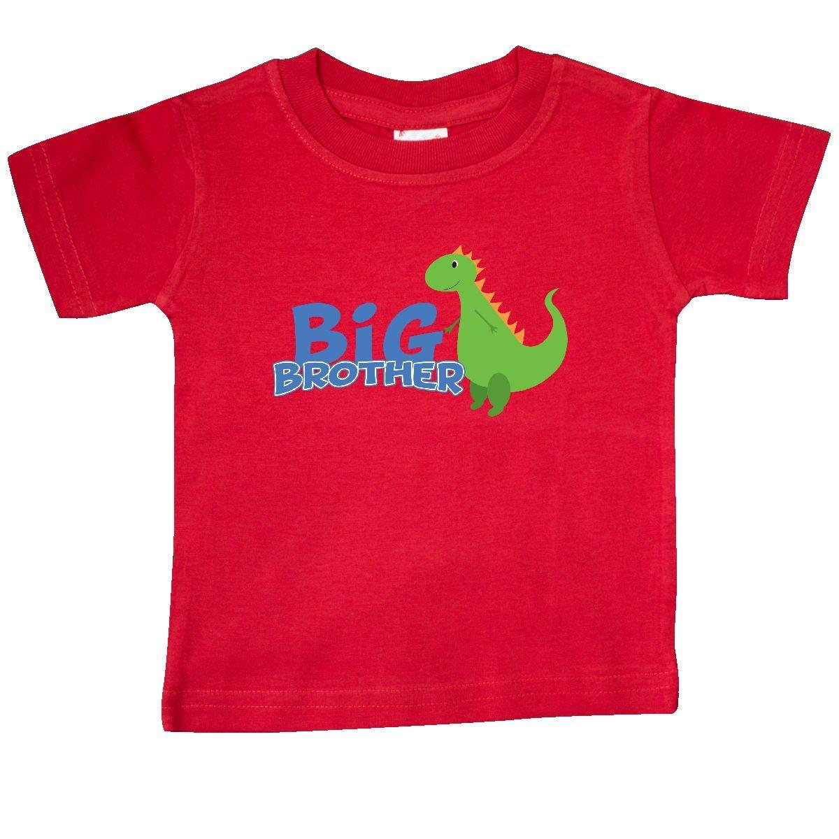 inktastic Big Brother Green Dino Baby T-Shirt