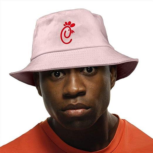 Unisex Funny Chicken Washed Cotton Bucket Hat Original Summer Boonie ... 02c07c7444f