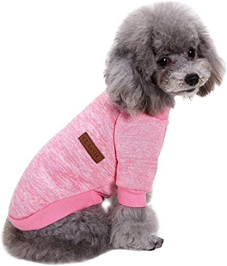 2Pcs Red /& Blue Balacoo Dog Pajamas Jumpsuit Soft Cotton 4 Legs PJS Apparel Winter Warm Puppy Comfortable Sleepwear for Small Medium Dogs Cats