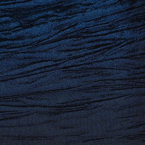 (Ultimate Textile -5 Pack- Crinkle Taffeta - Delano 90 x 132-Inch Rectangular Tablecloth, Royal)