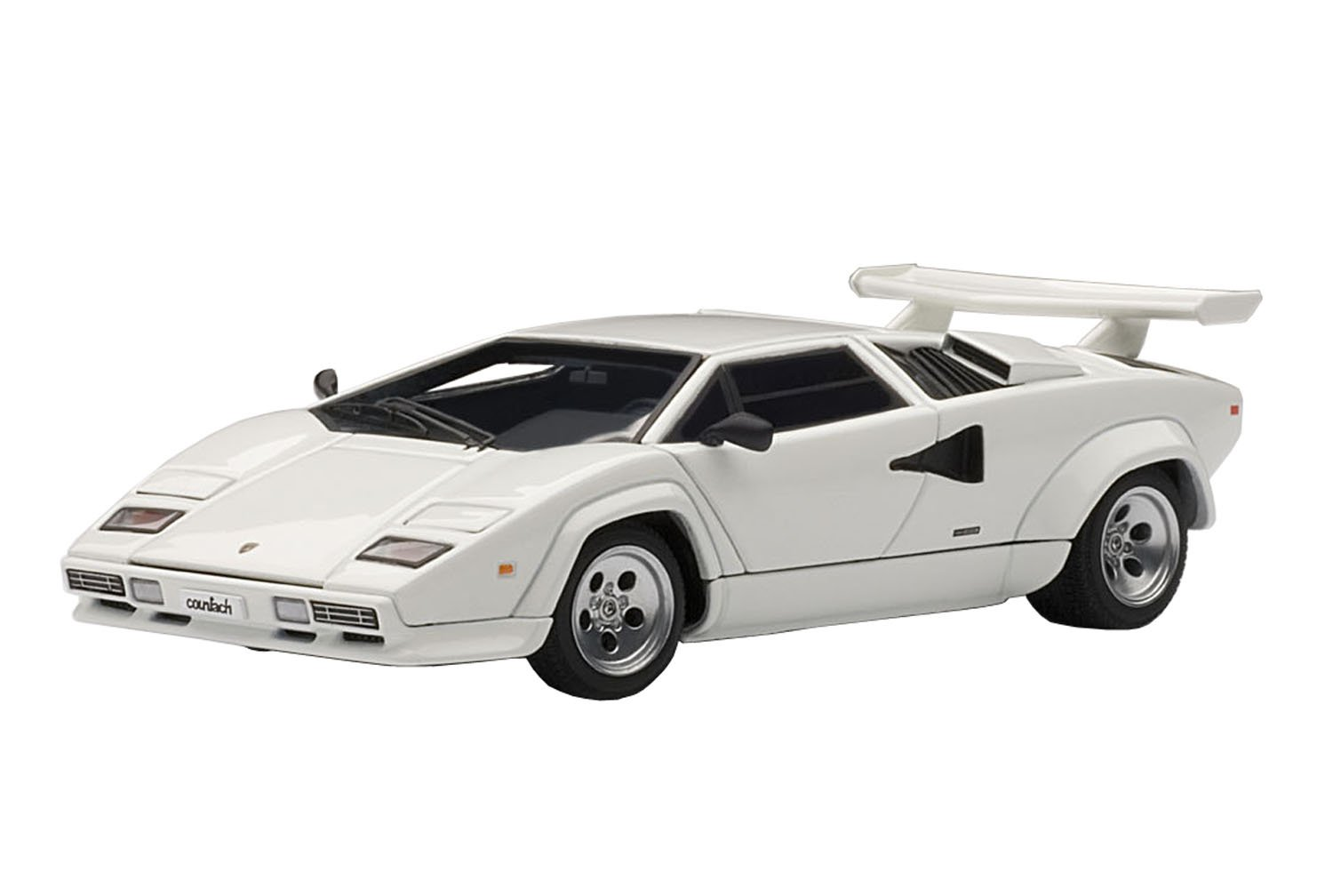 garantizado Lamborghini Countach 5000 S White 1/43 by by by Autoart 54533 Opening hood, doors, trunk. Comes in plastic display showcase. Limited Edition with Certificate of Authenticity. (japan import)  Con precio barato para obtener la mejor marca.