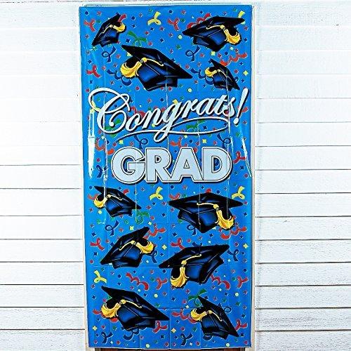 Graduation Cap Congrats Grad Party Door Cover (Door Cover Grad)