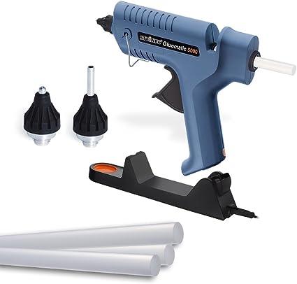 per pistola per colla a caldo elettrica 7 x 100 mm strumenti fai da te 25 stick di colla a caldo da 100 g