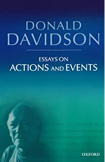 davidson anscombe thesis Contribution can thus be stated as the thesis that both anscombe and davidson hold that some form of 'agential knowledge' is characteristic of intentional action the question before us is what sort of difference this fact makes for their developed views on intentional action and agency to see the fuller picture here, we first.