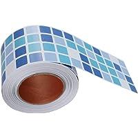 BESTONZON Mosaico adhesivo mosaico impermeable cáscara y azulejo