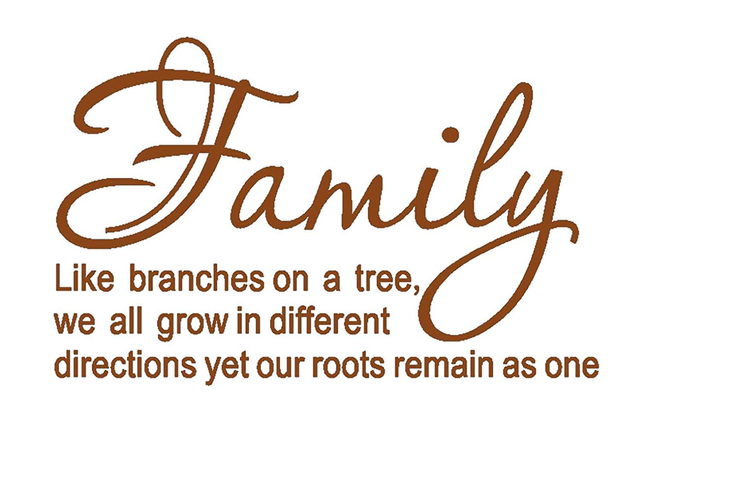 Luckkyy Family Like Branches On A Tree Vinyl Wall Decals Quotes