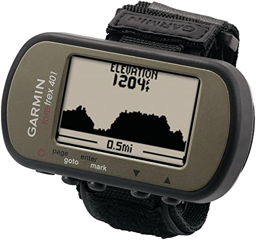Garmin 010-N0777-00 Foretrex 401 Wrist-Mounted Navigator Certified Refurbished