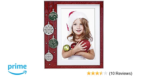 Amazon Neil Enterprises Red Ornament Pewter Picture Frame