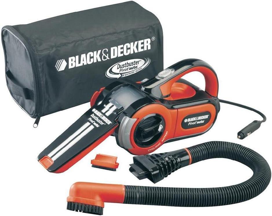 Black & Decker - Aspirador Para Coche 12 V Dustbuster Pav1205 Con Accesorios Black & Decker: Amazon.es: Bricolaje y herramientas