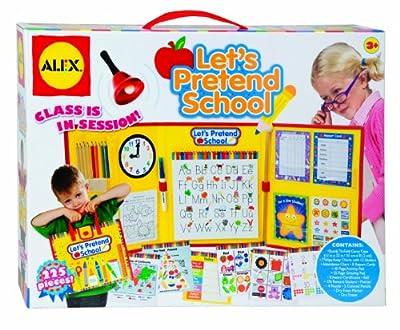 Alex Lets Pretend To Play School by Alex